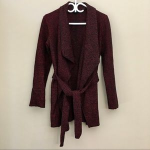 Chic by Jacob Wool Blend Wrap Coat